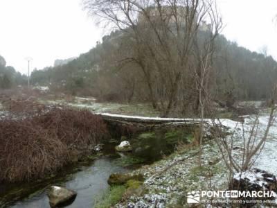 Villa de Pedraza y el Cañón del Río Cega; senderismo en ibiza